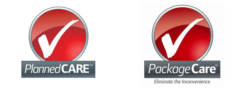 Package Care Logos