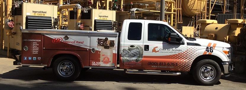 Cisco Air Service Truck