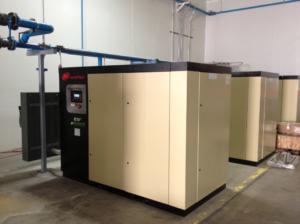 Factory Air Compressor Installation
