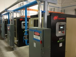 Manufacturing Compressor Installation