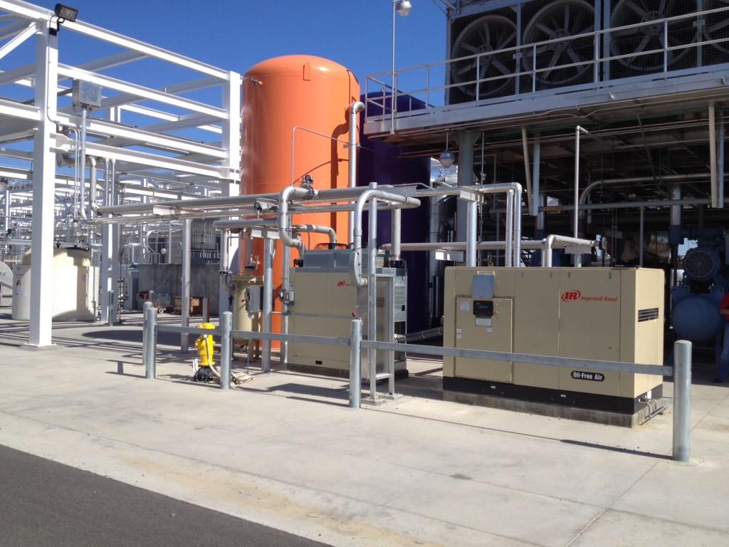Winery Air Compressor Installation