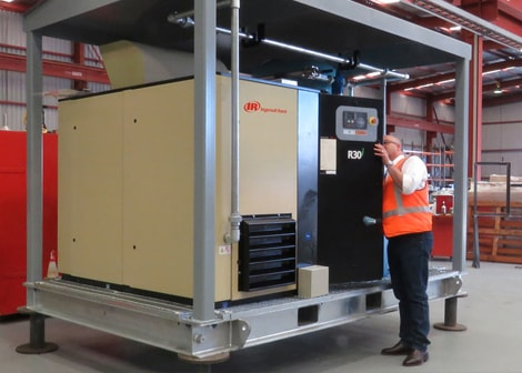 Ingersoll Rand Air Compressor Repair